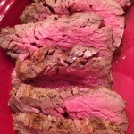 Salt Crusted Beef Tenderloin