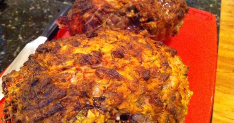 Roasted Leg of Lamb with Pan Sauce