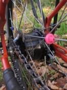 Roloff Speedhub handles the gears