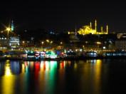night view from the Galletta bridge