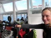 Crossing the Bosporus into Asia