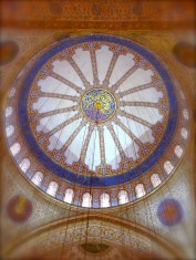 046 'The Blue Mosque Interior' - Istanbul