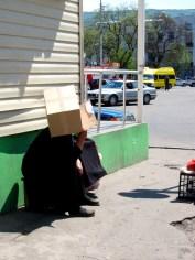 081 'Georgian Woman With Box' - Georgia