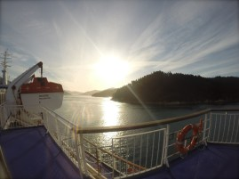 another jump across the water into the beautiful Marlborough Sounds