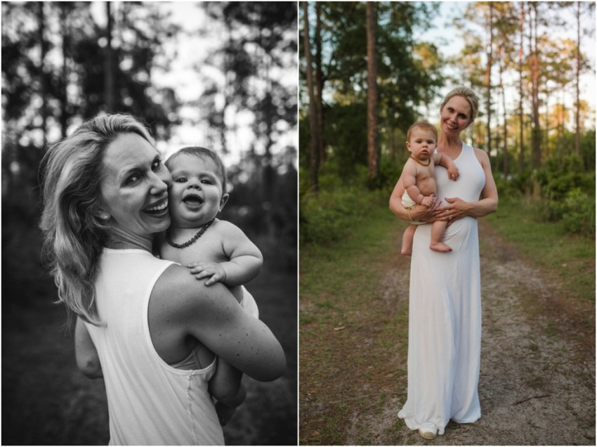 Mom and baby boy photo session | Atlantic Beach children photographer
