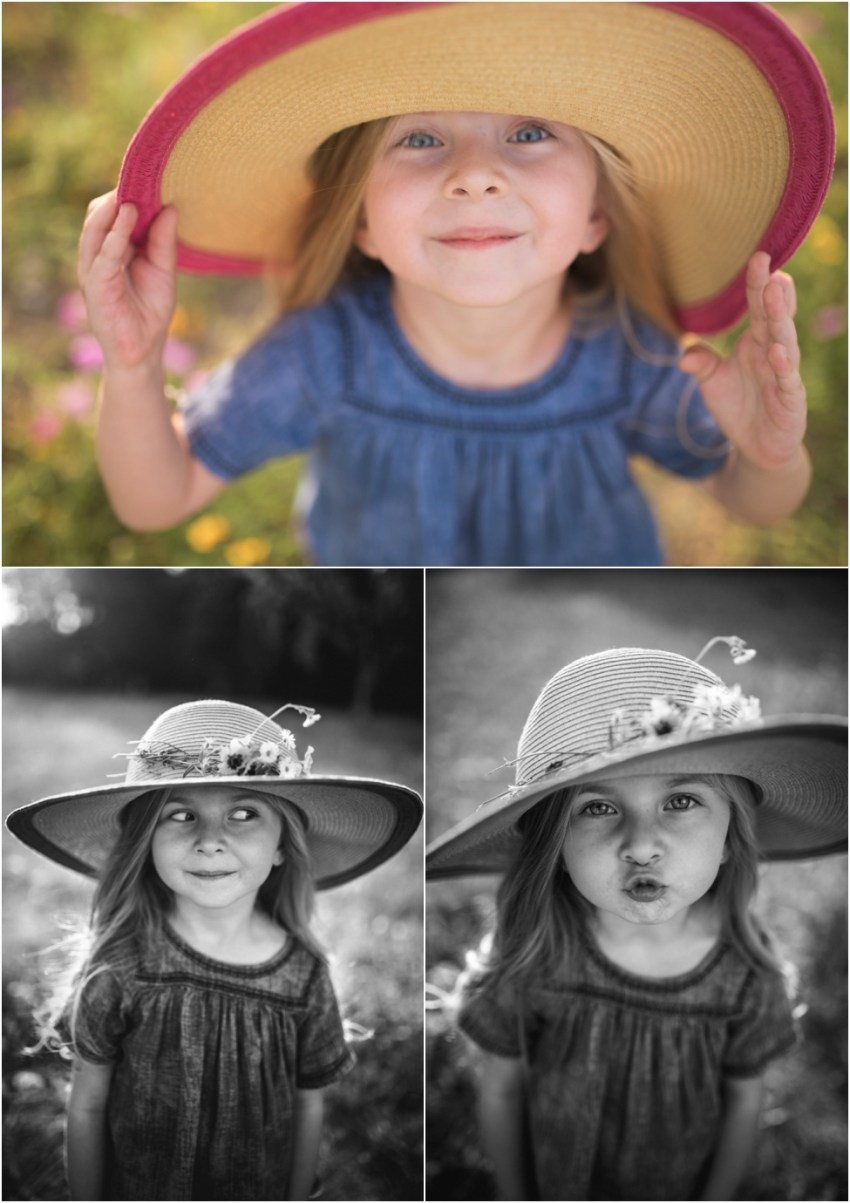 little girl in the hat | ponte vedra children photographer