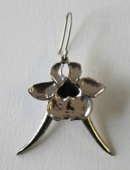 Bokhoring: Earrings, silver