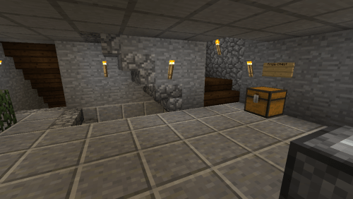 I guess this is the ground level? it's the first room I carved out in the house.