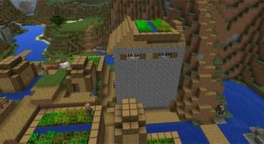 Unusual Double Village: -212718537 | Minecraft Seed