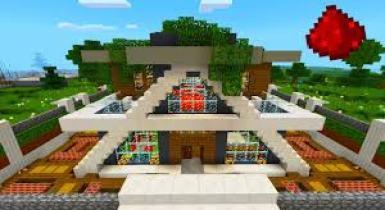 RS Smart Modern House Super Ultra [Redstone] Minecraft Map