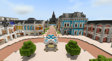 The World Of Games (Theme Park)   Minecraft Maps