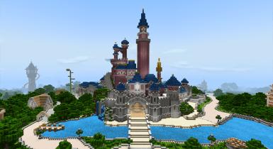 DisneyPark | Minecraft PE Maps