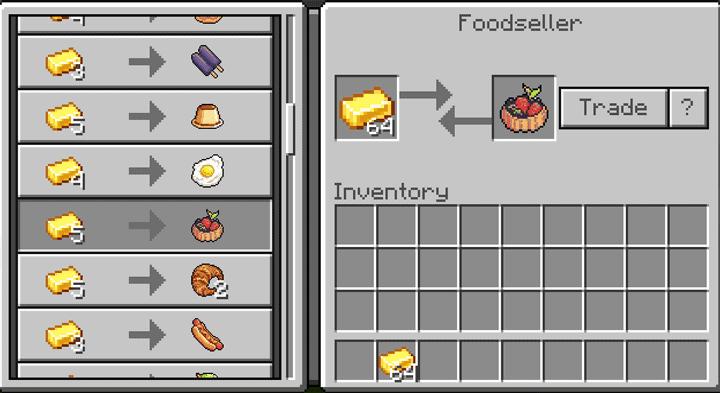FoodCraft Add-on