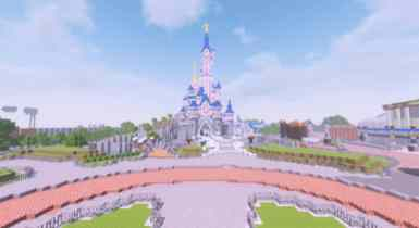 Disneyland Paris Resort   Minecraft Map