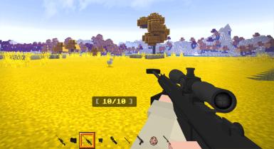 Actual Guns 3D v1.3.2   Minecraft PE Addons