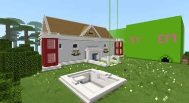 Redstone and Gumballs House | Minecraft Map