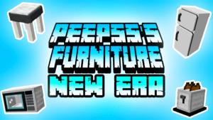 Peepss Furniture New Era Addon Minecraft V4 (v1.16.210)