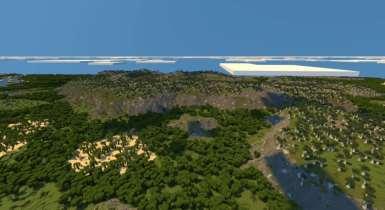 Project Althea (Custom Terrain) | Minecraft PE Maps