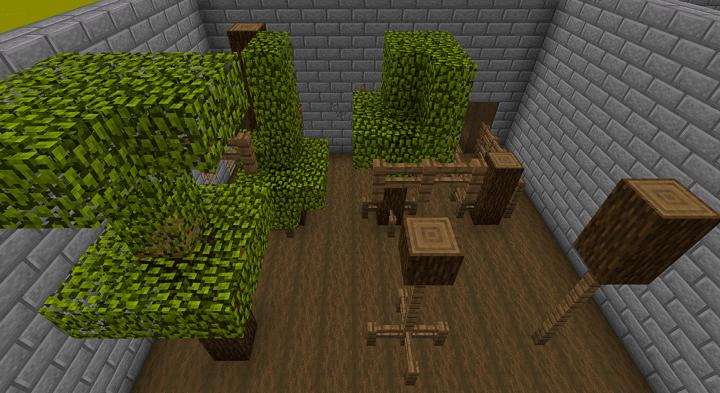wood parkour