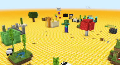 Flat Lucky Worlds for Minecraft [Custom Terrain]