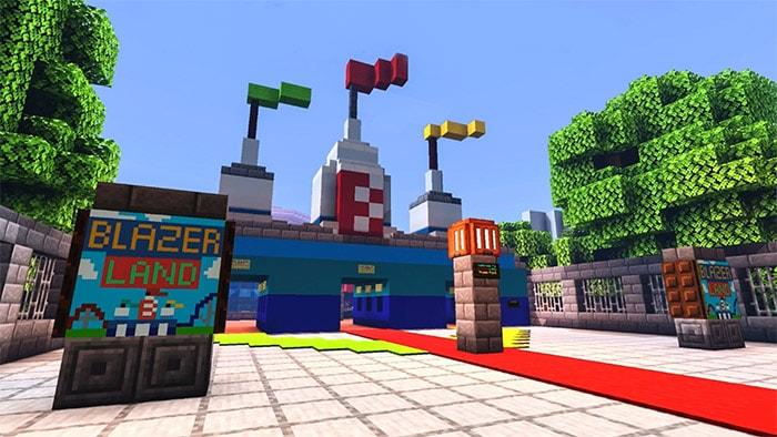 Blazer land theme park