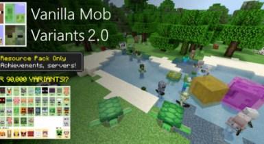Vanilla Mob Variants | Minecraft PE Texture