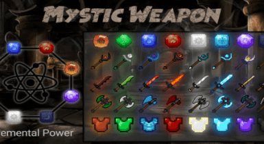 Mystic Weapon Addons for Minecraft