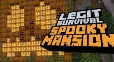 Legit Survival: Spooky Mansion Map