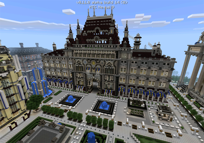 Imperial City Creation Minecraft PE Maps