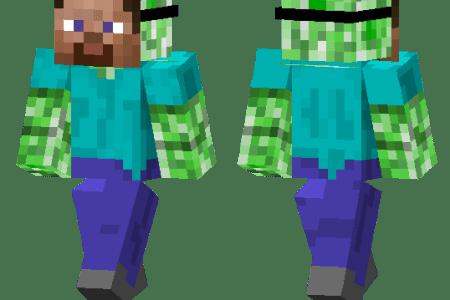 Minecraft Spielen Deutsch Skins Para Minecraft De Zombies Bild - Wie installiert man skins fur minecraft