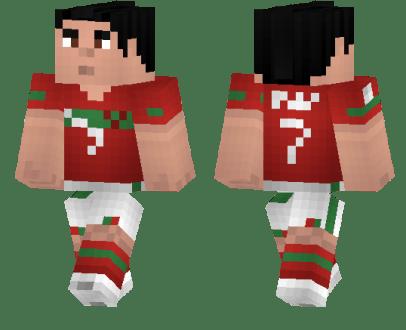 Sports Skins For Minecraft Fitness Lounge Körper Fit Machen - Skin para minecraft pe de messi