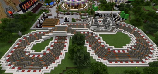 Roller Coaster Maps MCPE DL