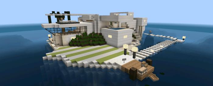 Modern Island House [Creation]