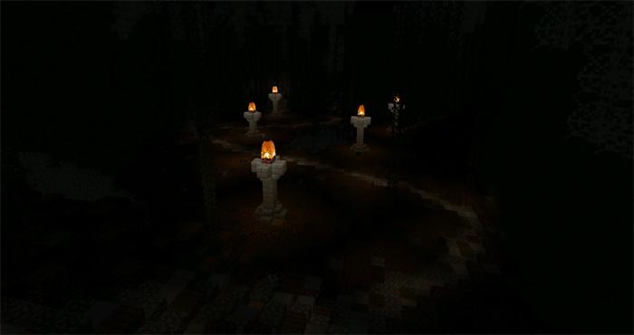 The Cave CTM Minecraft PE Maps