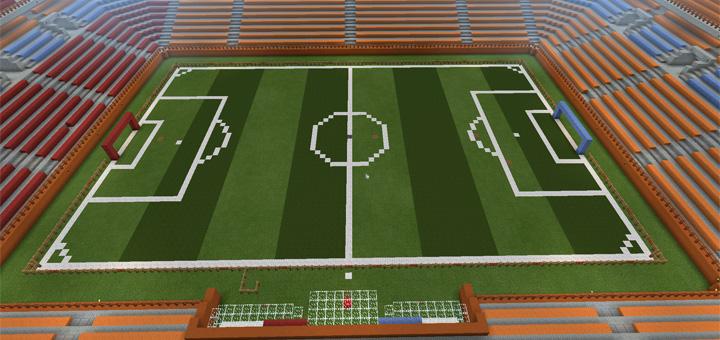 Slime Soccer Minigame Minecraft PE Maps