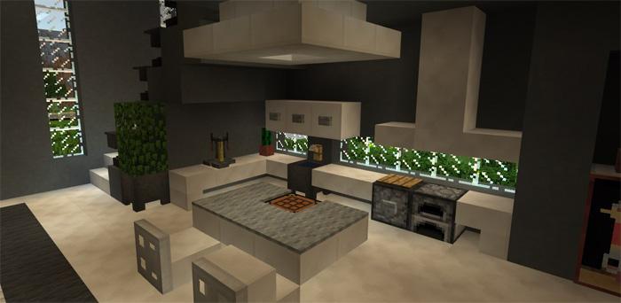 Modern Super Mansion Creation | Minecraft PE Maps