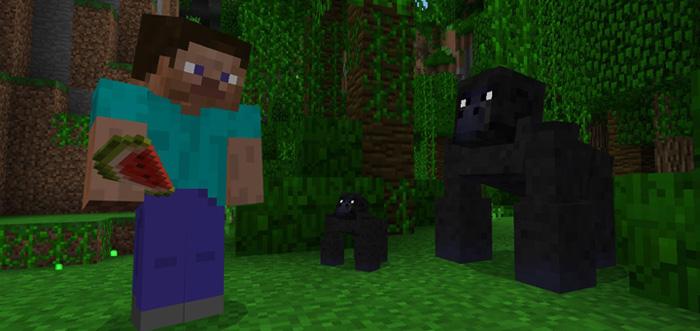 Gorillas Add On Minecraft PE Mods Amp Addons