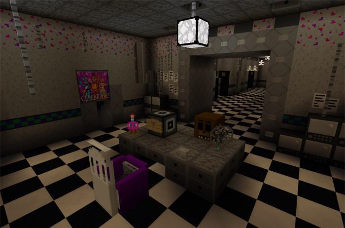 Freddys 20 Five Minecraft Mods Nights