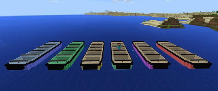 LEMO Attraction Boat Addon Minecraft PE Mods Amp Addons