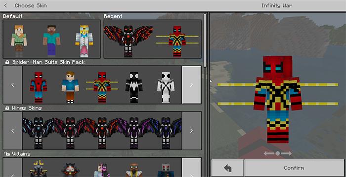 Hd Minecraft Skins Spider Man