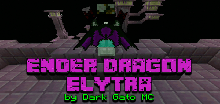 Ender Dragon Elytra Minecraft Pe Texture Packs