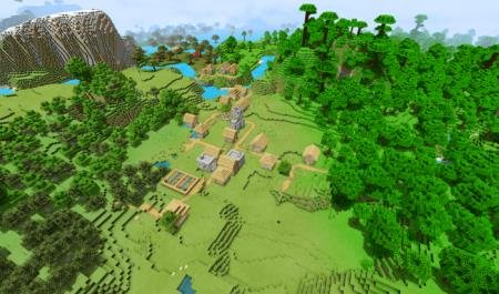 village next to the jungle