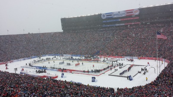 NHL Winter Classic - Cold and Colder