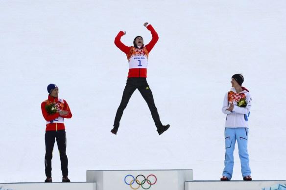 podium jump