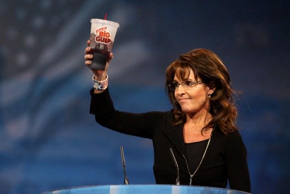 Sarah Palin Gulps