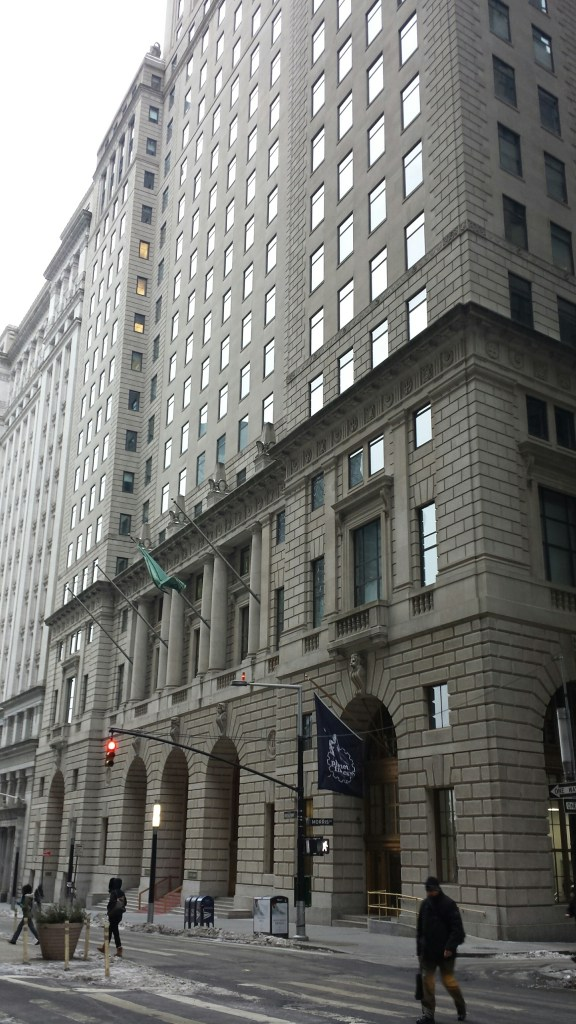 Overlooked New York: The Cunard Building