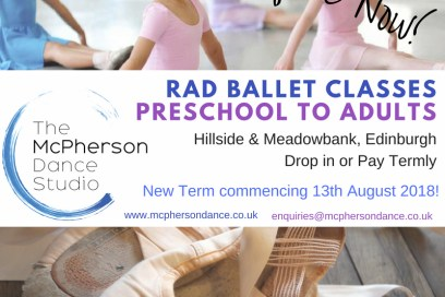 New Term Commencing August 2018!