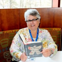 Olney Library Associate Peggy