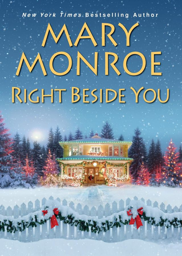 Book cover for Right Beside You by Mary Monroe