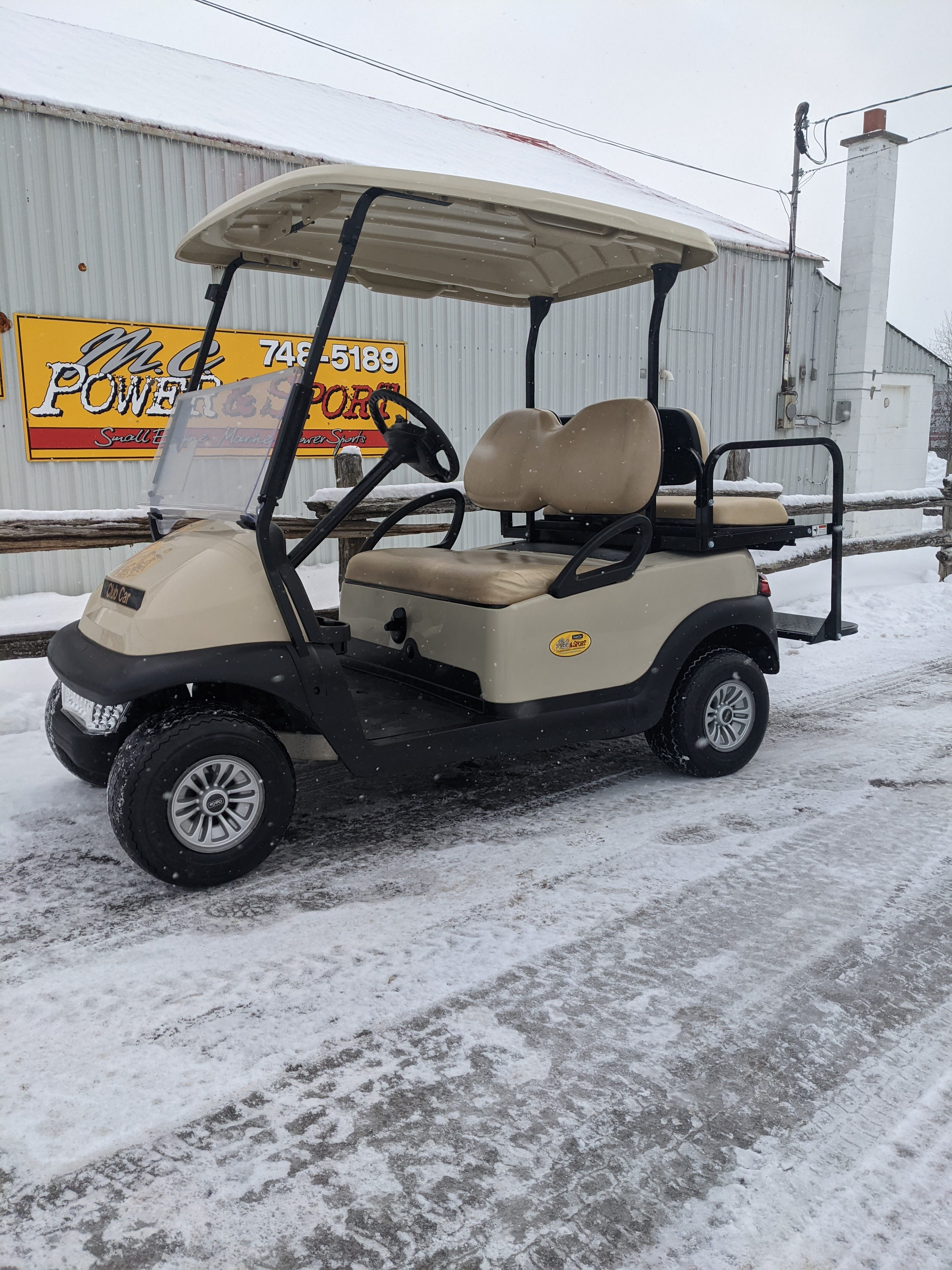 2013 Biege Gas Club Car $5750